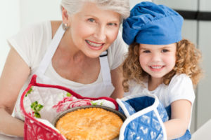 Do you remember baking with your Grandma?